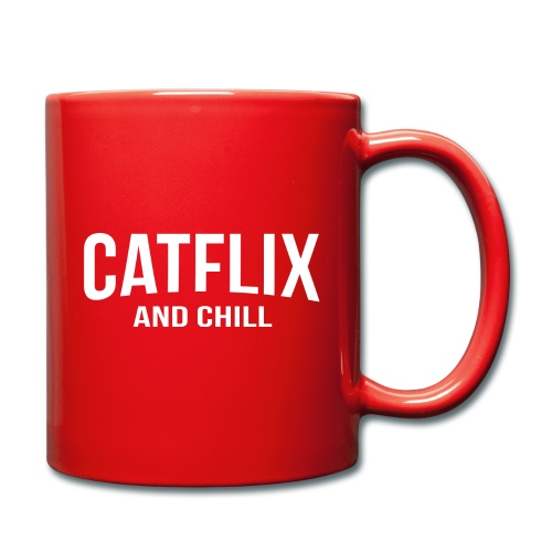 Catflix and Chill - Tasse einfarbig