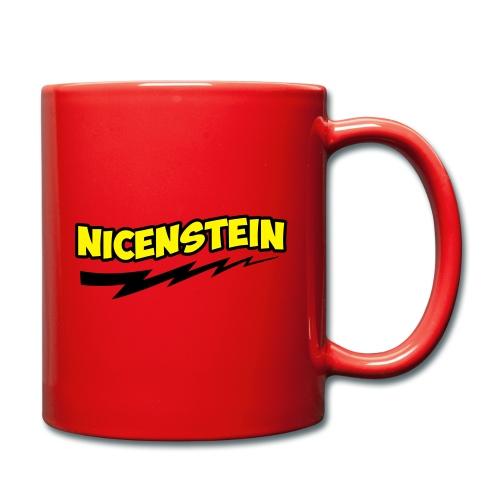 Nicenstein Cartoon – lustige Geschenkidee - Tasse einfarbig