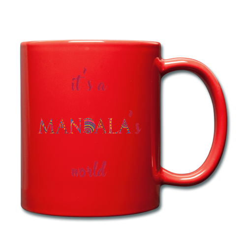 It's a mandala's world - Full Colour Mug