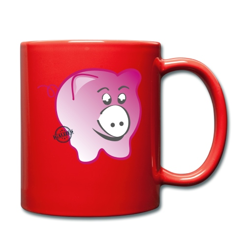 Pig - Symbols of Happiness - Full Colour Mug