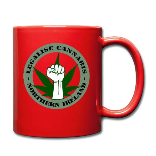 Legalise Cannabis - Northern Ireland - Full Colour Mug