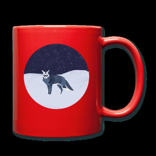 Blue fox - Yksivärinen muki
