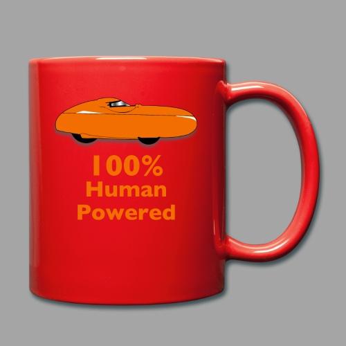 100% human powered - Yksivärinen muki