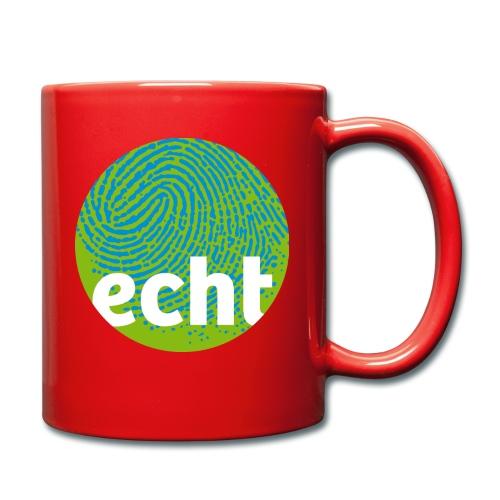 echt.cloppenburg Stadtmarke Grün - Tasse einfarbig