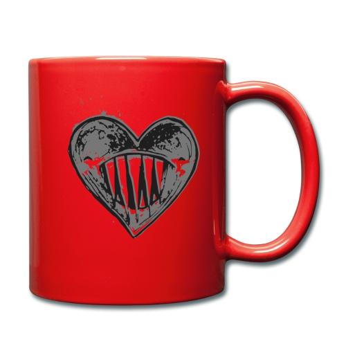 Corazón Negro - Taza de un color