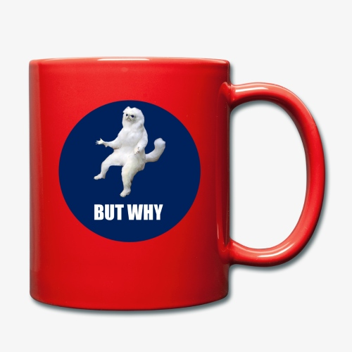 BUTWHY - Full Colour Mug