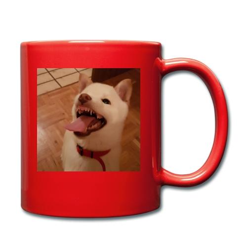 Mein Hund xD - Tasse einfarbig