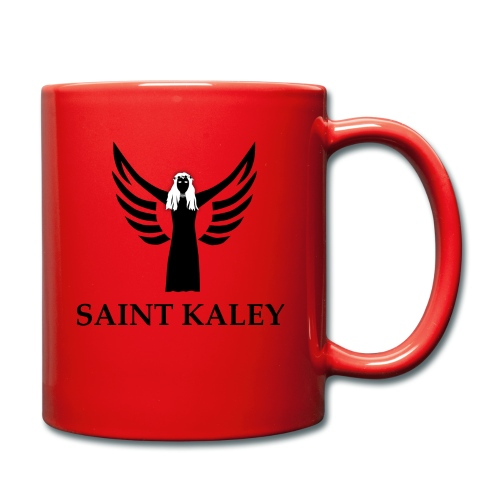 SaintKaley Logo Black - Tasse einfarbig