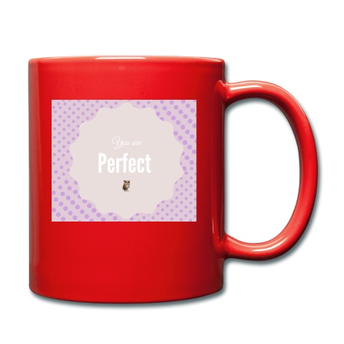 You are perfect - Taza de un color