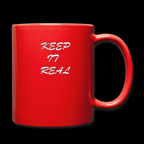 Keep it real - Full Colour Mug