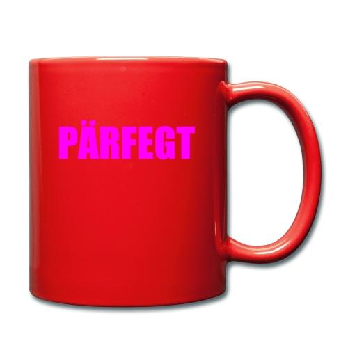 Perfekt, aber dann doch nicht so. - Tasse einfarbig