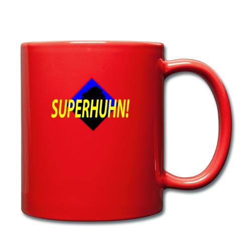 SuperHuhn :) - Tasse einfarbig