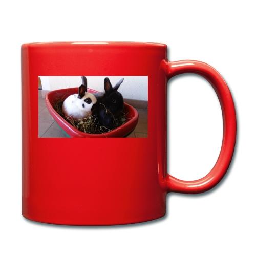 Warme Sachen mit dem Hasenlogo - Tasse einfarbig