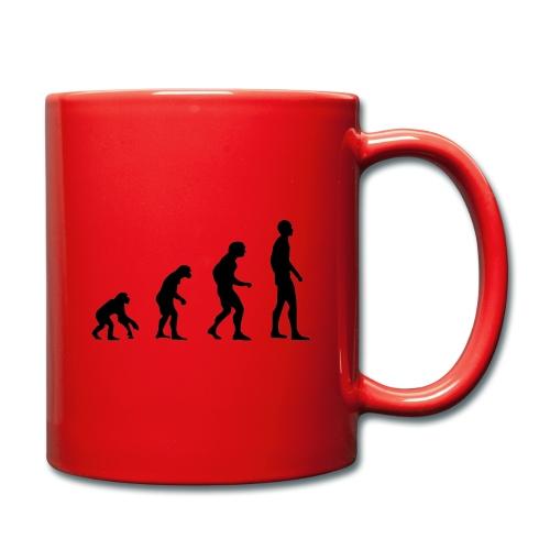 Du singe a l'homme - Mug uni