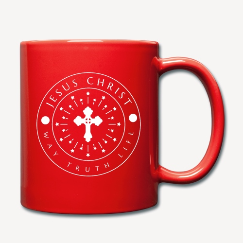 JESUS CHRIST -WAY TRUTH LIFE - Full Colour Mug
