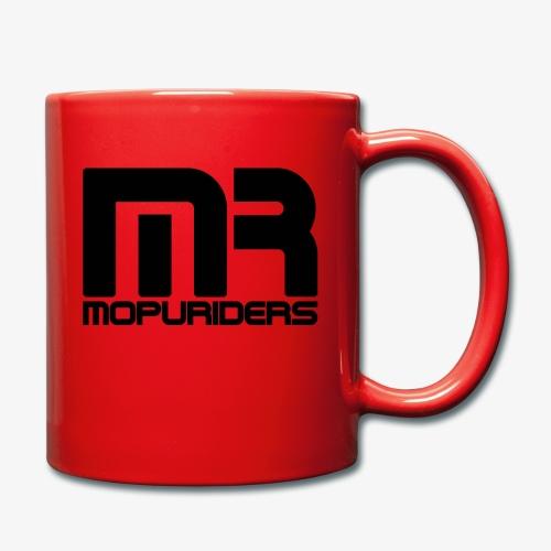 Mopuriders Schwarz - Tasse einfarbig
