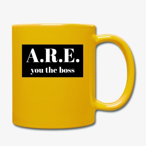 AREyou the boss - Full Colour Mug