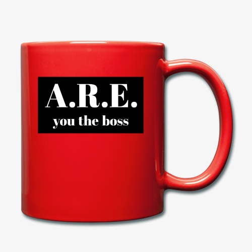 AREyou the boss - Full Colour Mug