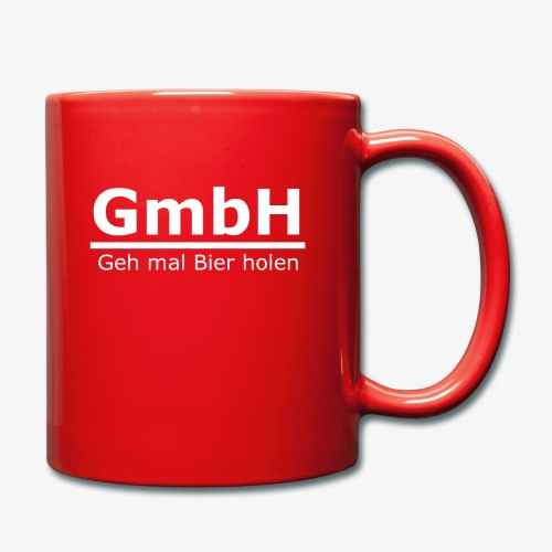 GmbH - Tasse einfarbig