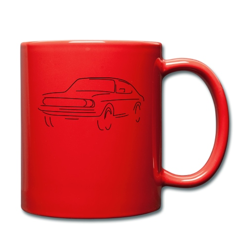 auto slight - Tasse einfarbig