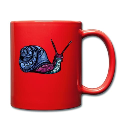 Snegle - Ensfarget kopp