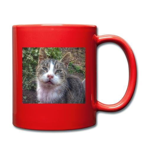 Katze Max - Tasse einfarbig
