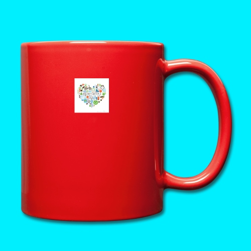 Heart image - Full Colour Mug