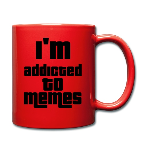 I'm Addicted To Memes - Full Colour Mug