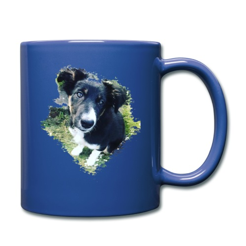 colliegermanshepherdpup - Full Colour Mug
