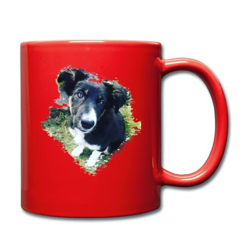 colliegermanshepherdpup - Full Colour Mug