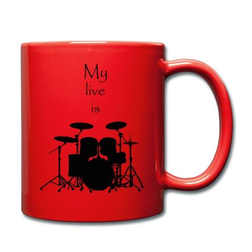 mylifeisdrums - Mug uni