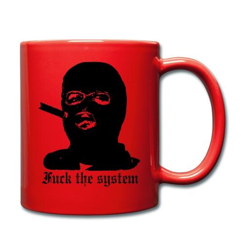 Fuck the System - Yksivärinen muki