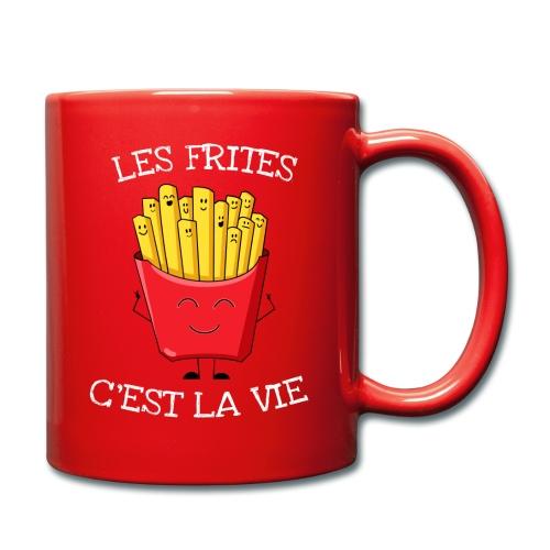 Les frites c'est la vie - Mug uni