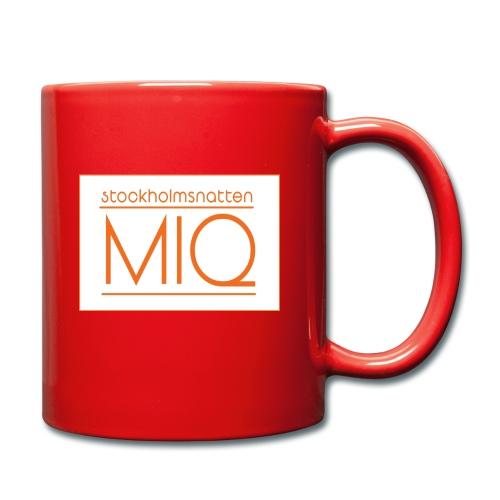 MIQ - STOCKHOLMSNATTEN Singel Cover Logotype - Enfärgad mugg