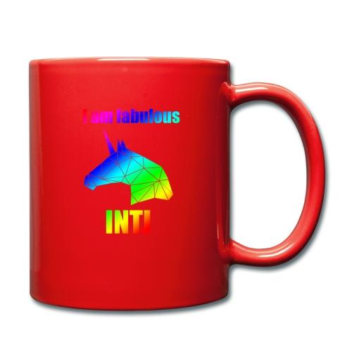 INTJ - Kubek jednokolorowy