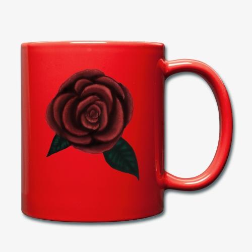 One rose - Enfärgad mugg