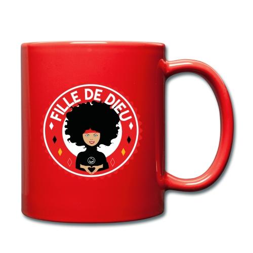 fille de Dieu rouge - Mug uni