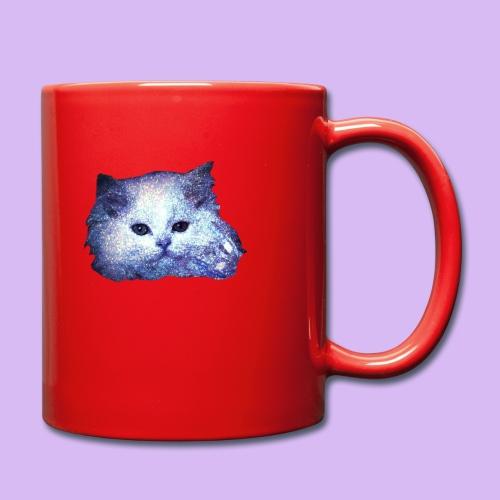 Gatto glitter - Tazza monocolore