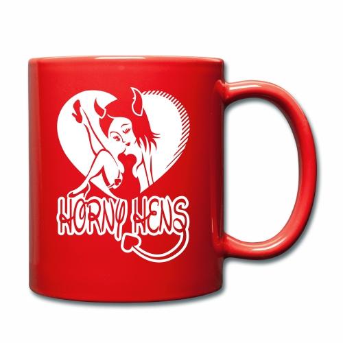 Horny Hens Heart - Full Colour Mug