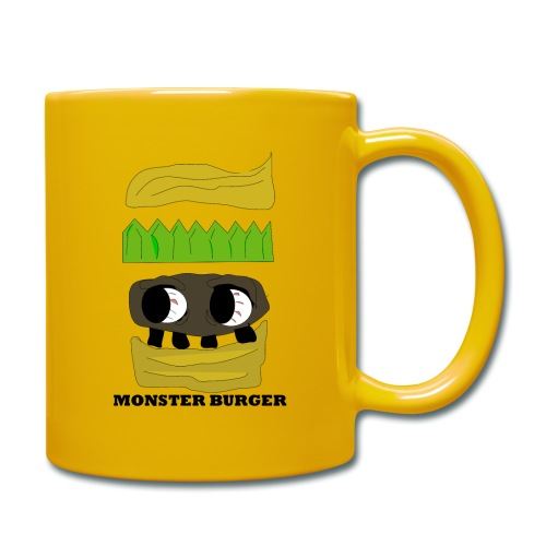 MONSTER BURGER - Tasse einfarbig