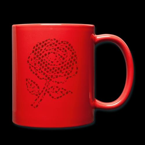 Rose aus Rosen - Tasse einfarbig