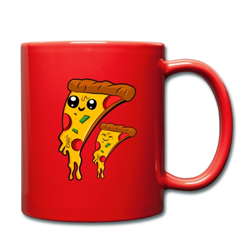 pizza Amigos Pizza Friends - Taza de un color