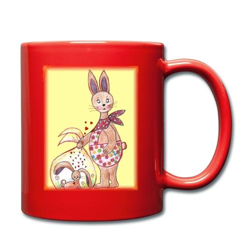 HäschenMama - Tasse einfarbig