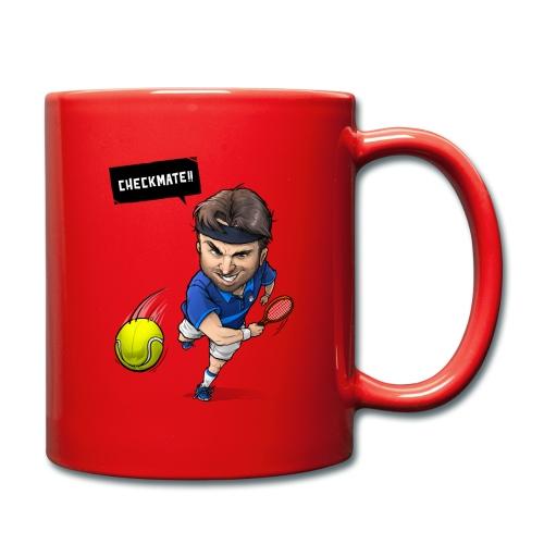 Alasdair checkmate logo - Full Colour Mug