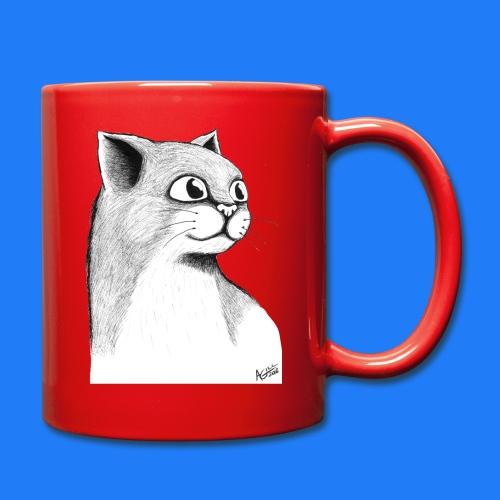 CAT HEAD by AGILL - Mug uni
