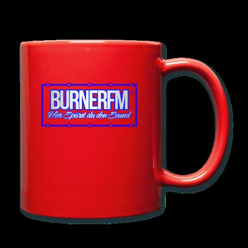 BurnerFM Hier Sürst du den Sound - Tasse einfarbig
