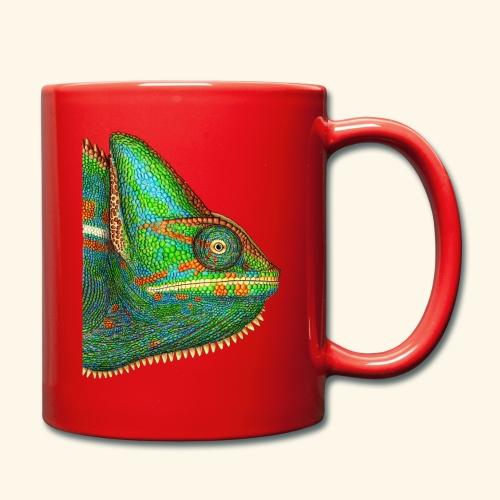 Chamäleon - Tasse einfarbig