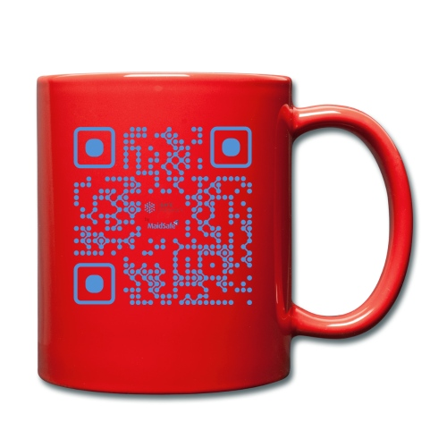 QR Maidsafe.net - Full Colour Mug