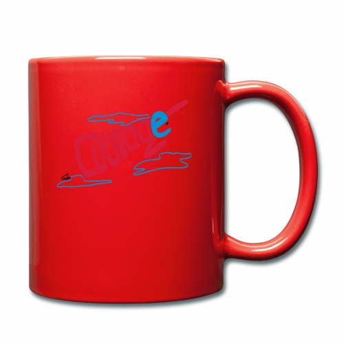 Courage superhero interior - Full Colour Mug