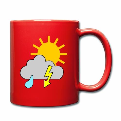 Sun - rain - thunderstorm - Full Colour Mug